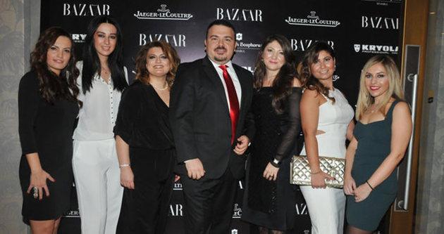 Ünlü isimler Harper's Bazaar'ın yılbaşı partisinde buluştu