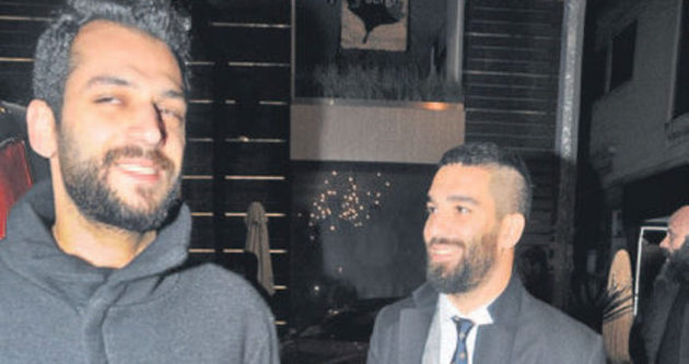 Murat Yıldırım ile Arda Turan'ın teselli buluşması
