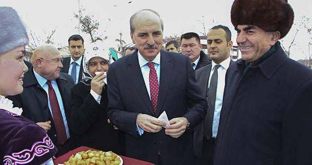 Numan Kurtulmuş'tan Kırgızistan ziyareti