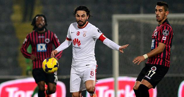 Galatasaray'a Gençlerbirliği çelmesi