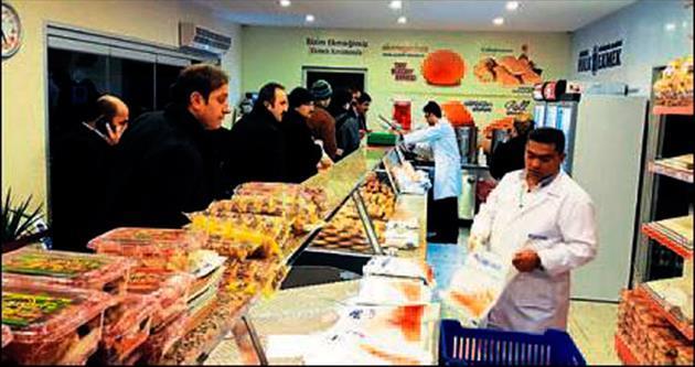 Halk Ekmek'ten üçüncü mağaza