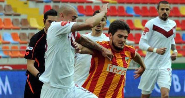 Kayserispor'a tek gol yetti