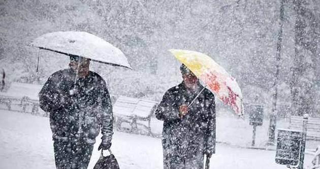 Batı yeni yılı karla karşılasyacak