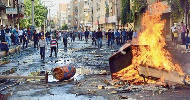 Siirt'te Kobani olaylarının yeni görüntüleri ortaya çıktı