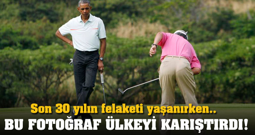 Rezak'ın Obama ile golfü olay oldu