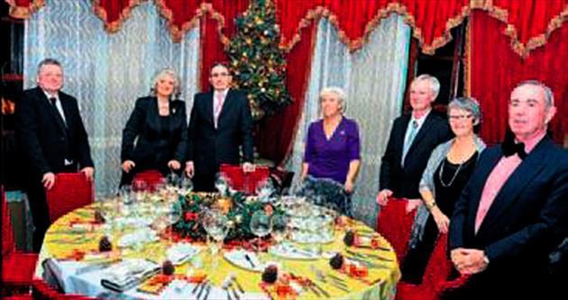 Yabancılar Noel kutlaması yaptı