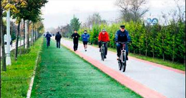 21 kilometrelik sağlık parkuru