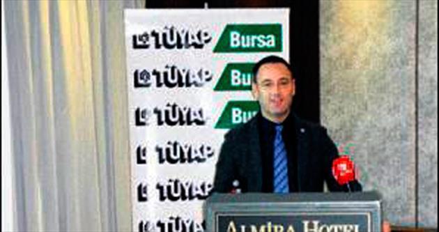 TÜYAP Bursa'nın 2015 hedefi büyük