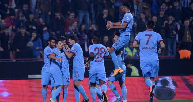 Trabzonspor'da hedef namağlup bitrirmek