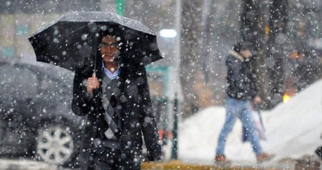 Ege'de kuvvetli yağış ve fırtına uyarısı