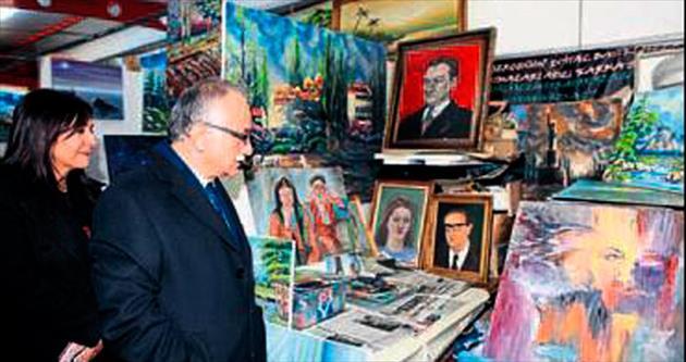 Bayraklı'nın sanat sokağı genişliyor