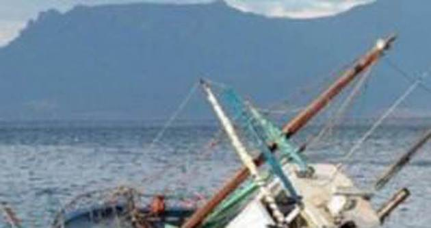 Bodrum'da kaçak tekne battı!