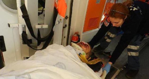 Ermenek'te göçük: 1 yaralı