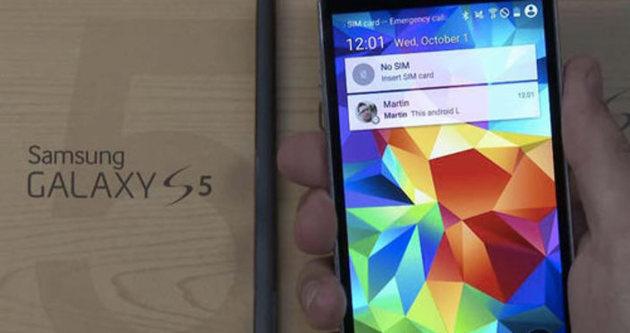 Galaxy S5'e beklenen güncelleme geliyor