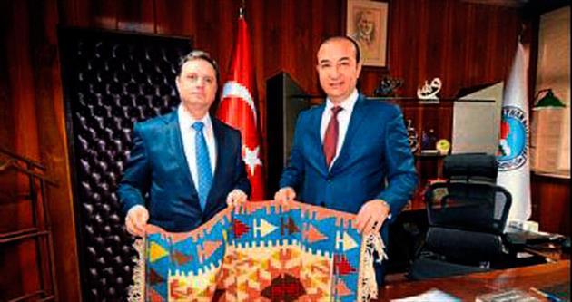 Başkonsolos Morina, Öztürk'ü ziyaret etti