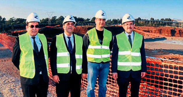 Adana Sağlık Kampusu'nda inşaat molasız devam ediyor