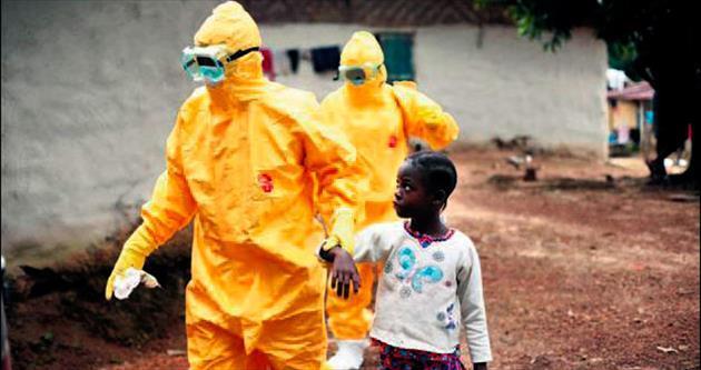 Liberya sınırında yine ebola