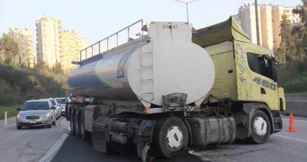 Esrar tankeri polise takıldı