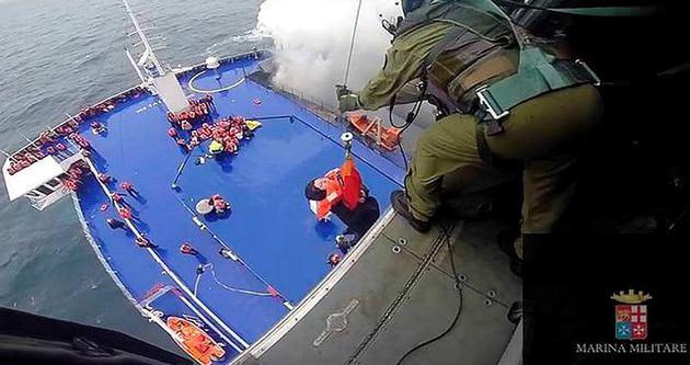 Adriyatik'teki feribottakiler o anları anlattı