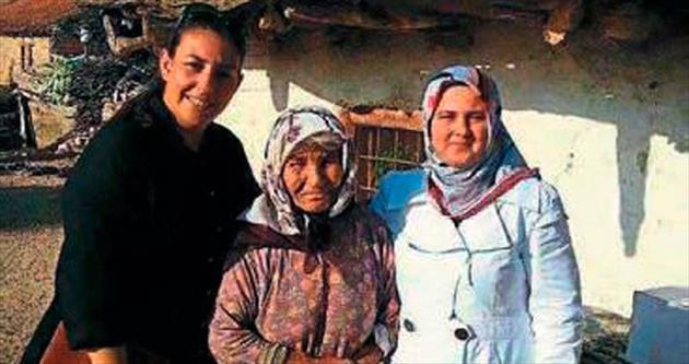 AK Kadınlar'dan mahalle ziyareti