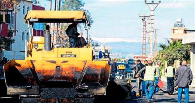 Köylerin yolu asfaltlanıyor