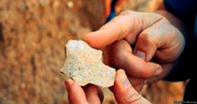 Dünyanın en eski aleti Gediz Nehri'nden çıktı