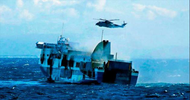 İddia: Yanan feribotta kaçak yolcular vardı
