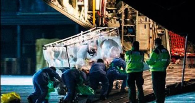 İngiltere'nin ilk ebola vakası gözetim altında