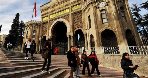 Türkiye'nin yüz akı 10 üniversite