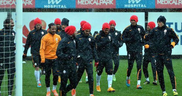 Galatasaray'da Beşiktaş maçı hazırlıkları
