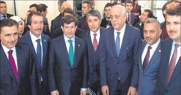 Başkan Seyfi Dingil Davutoğlu'ndan söz aldı