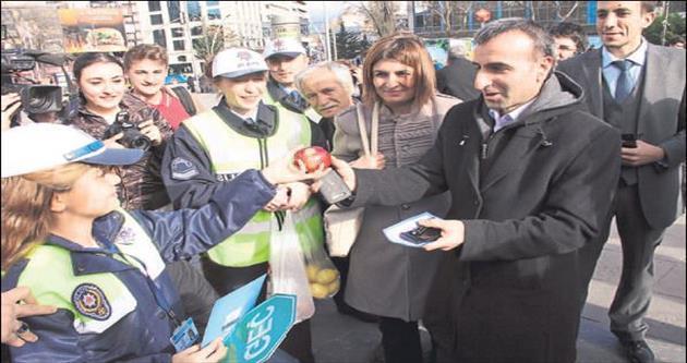 Ankara trafiği bir günlüğüne de olsa çocuklara emanet edildi