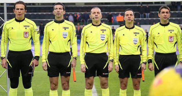 Beşiktaş-Galatasaray maçı Cüneyt Çakır'ın
