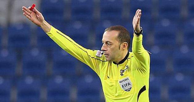 Cüneyt Çakır Galatasaray'a şanslı geliyor