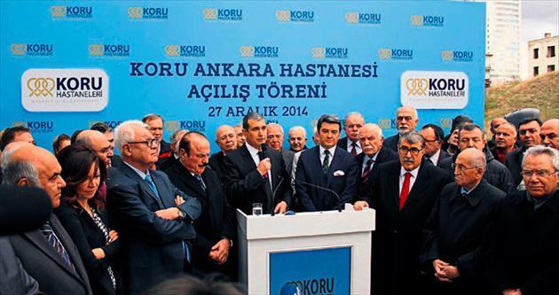 Koru Ankara Hastanesi açıldı