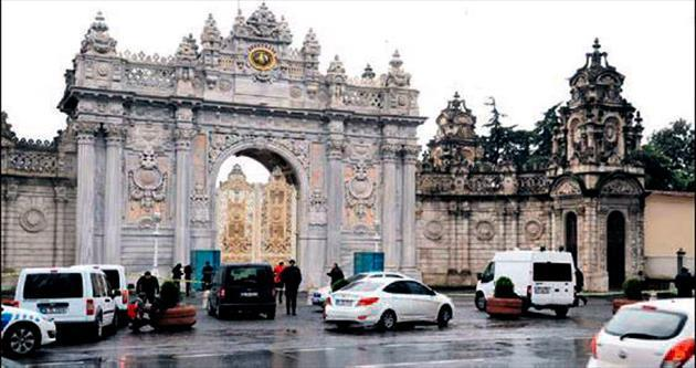Dolmabahçe Sarayı'na el bombalı saldırı