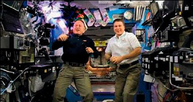 Uzayda 16 kez yılbaşı kutladılar