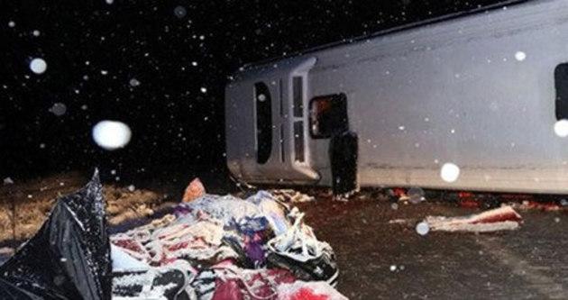 Sivas'ta otobüs kazası: 51 yaralı