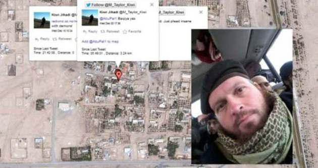 IŞİD militanından sosyal medya hatası!