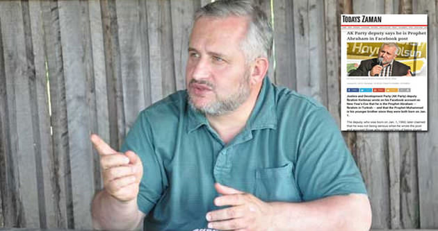 ZAMAN'dan AK Partili vekile akıl almaz iftira