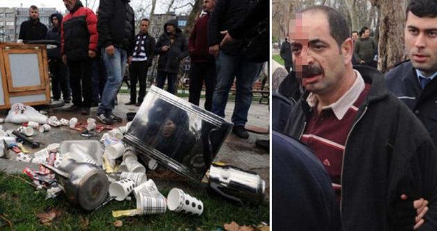 Gezi Parkı'nda kavga