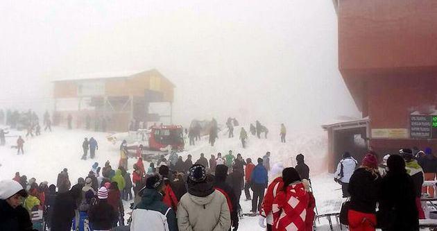 Kartepe'de kar faciası