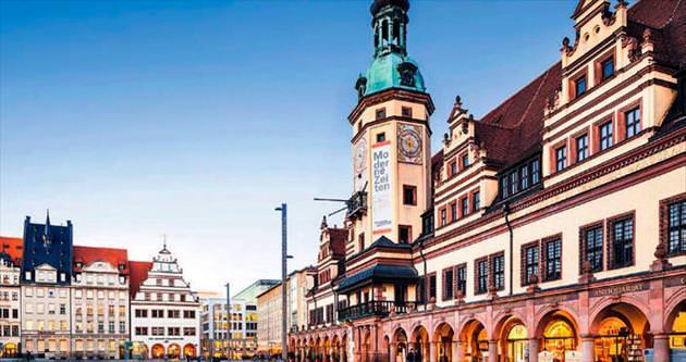 Almanya'nın zarif şehri Leipzig