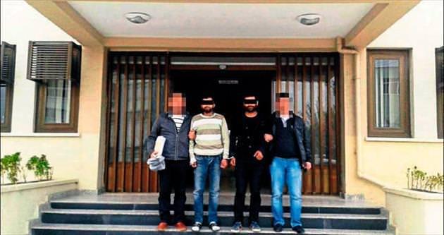 Tarsus'ta kuaför hırsızları tutuklandı