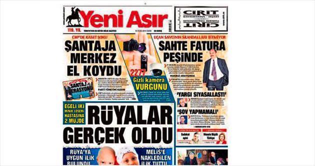 Yeni Asır Gazetesi 'bölgenin en iyisi'