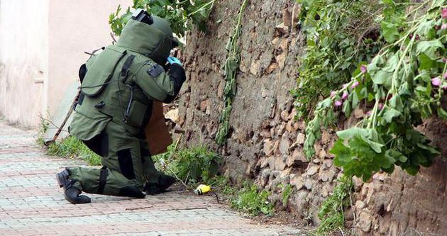 Maltepe'de bomba bulundu