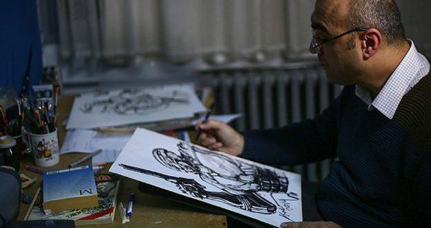 RoboCop Türk sanatçının çizgisiyle hayat buldu