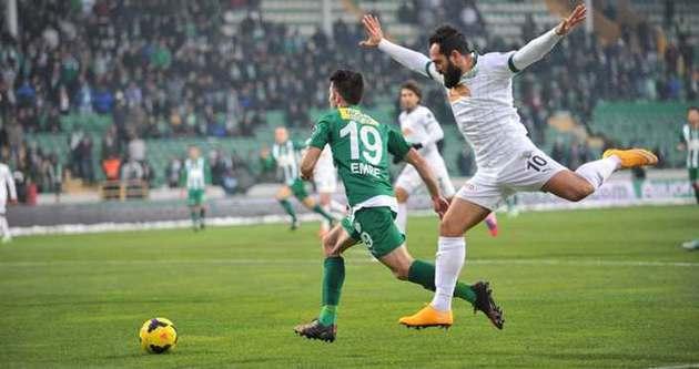 Bursaspor: 3 - Akhisar Belediyespor: 1