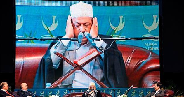 Kandil'e özel Kur'an ziyafeti