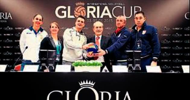 Gloria'da voleybol heyecanı